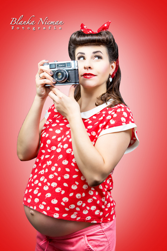 Fotograf ciążowy Blanka Nicman