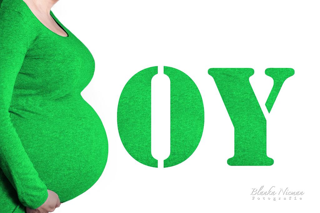 Fotografia ciążowa chłopiec Blanka Nicman