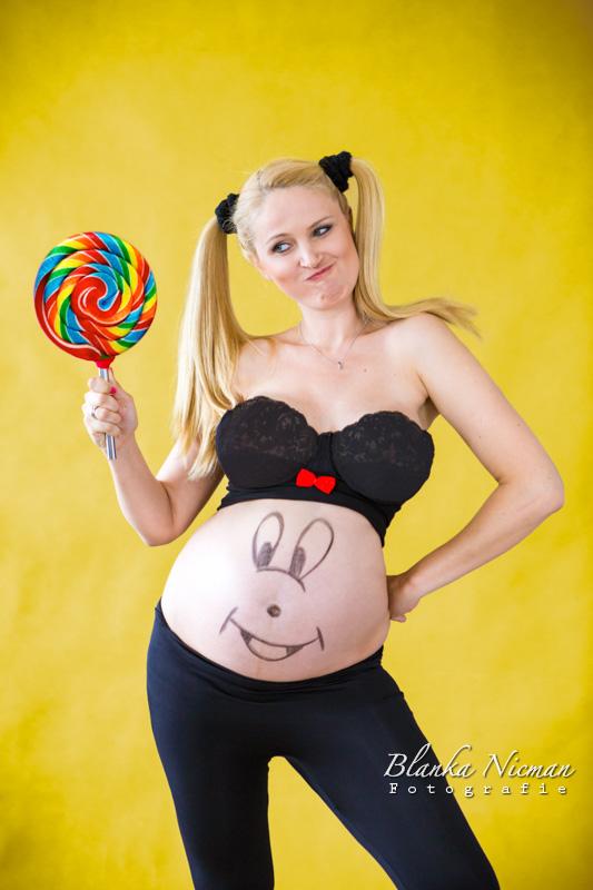 Fotografia ciążowa wesoło Blanka Nicman
